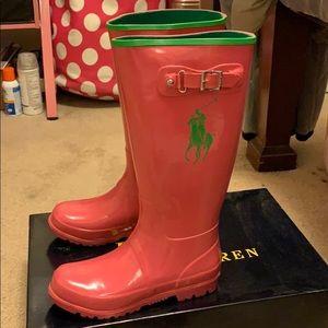 Polo by Ralph Lauren Shoes - Kids polo rain boot size 5